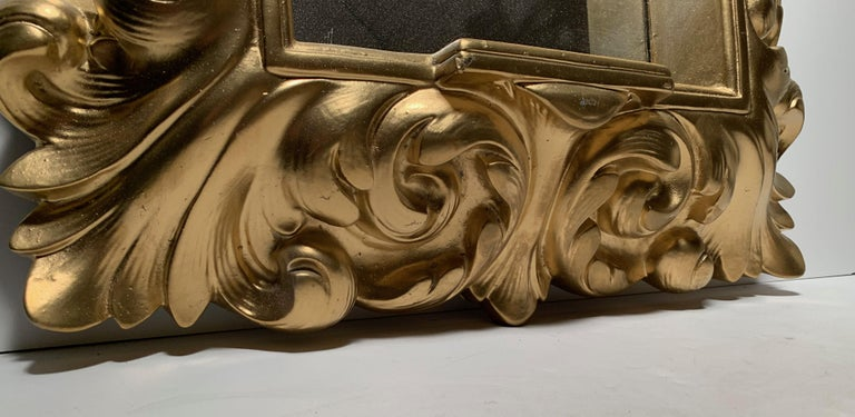 Plaster Wall Mirror Hollywood Regency For Sale 1