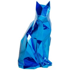 Plastic Cat by Mariano Giraud, Argentinian Contemporary Artist