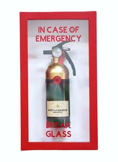 """In Case Of Emergency - Compact Moet  Fire Extinguisher"""