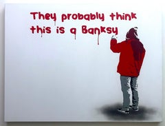 They Probably Think This Is a Banksy