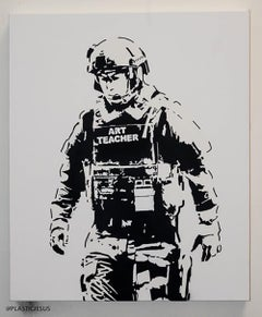 """""""Art Teacher"""" - Contemporary Street Art"""