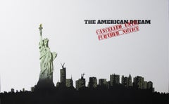 """""""The American Dream Cancelled"""" - Contemporary Street Art"""