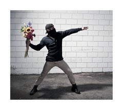 """Flower Thrower"" - Limited Edition Fine Art Print"