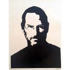 """Steve Jobs"" - Contemporary Street Art"