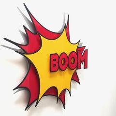"""Boom"" Explosive 3D - 4 layer acrylic sculpture"