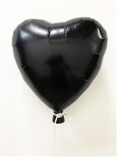 """Glitter Balloon Black"" – Deep Acrylic Glittered Cast Wall Mount"