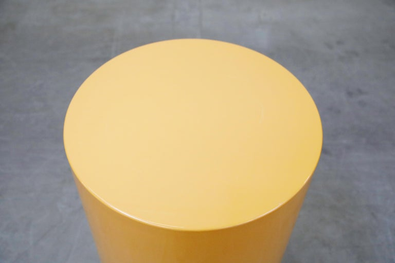 'Plastiglas' Side Table by Peter Pepper Products, 1970s, Signed For Sale 3