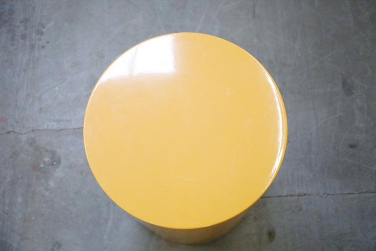 'Plastiglas' Side Table by Peter Pepper Products, 1970s, Signed For Sale 5