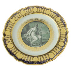 Plate from The Hope Service, circa 1790