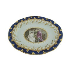 Plate from The King of Hanover Service, Cleopatra, Worcester, circa 1795