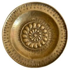Plate of Alms Nuremberg Bronze, 17th Century