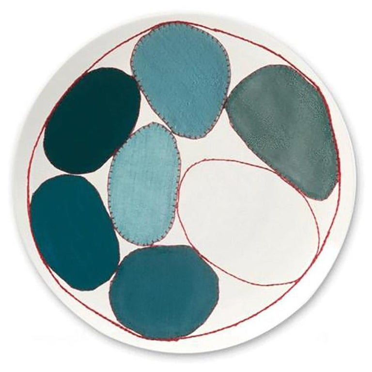 Asian Plate Set after Louise Bourgeois For Sale