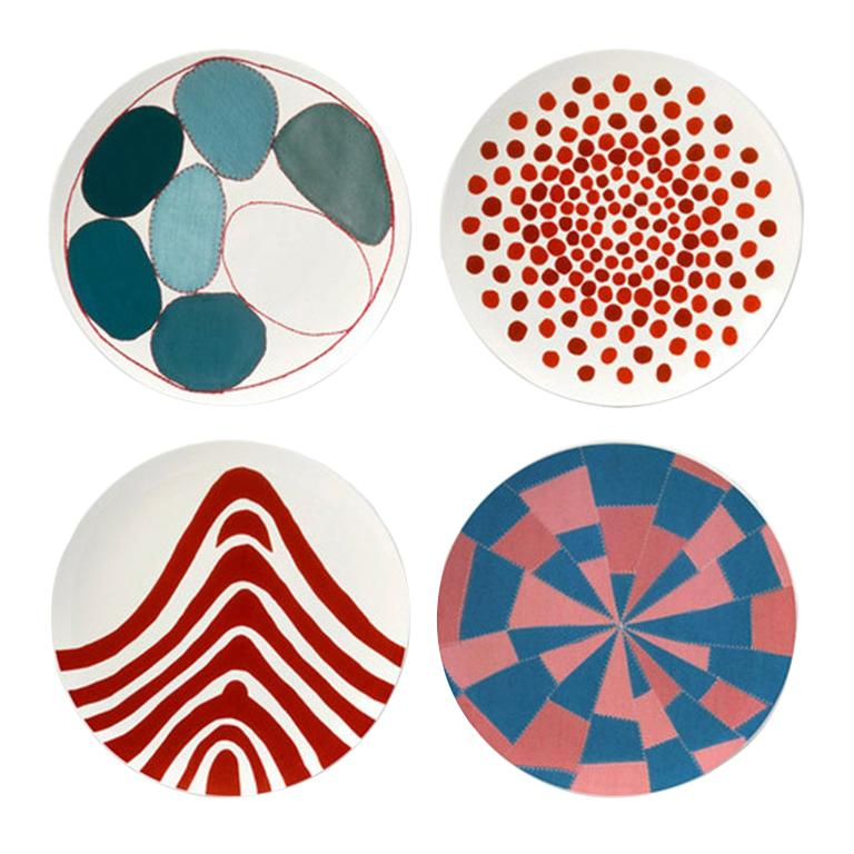 Plate Set after Louise Bourgeois For Sale