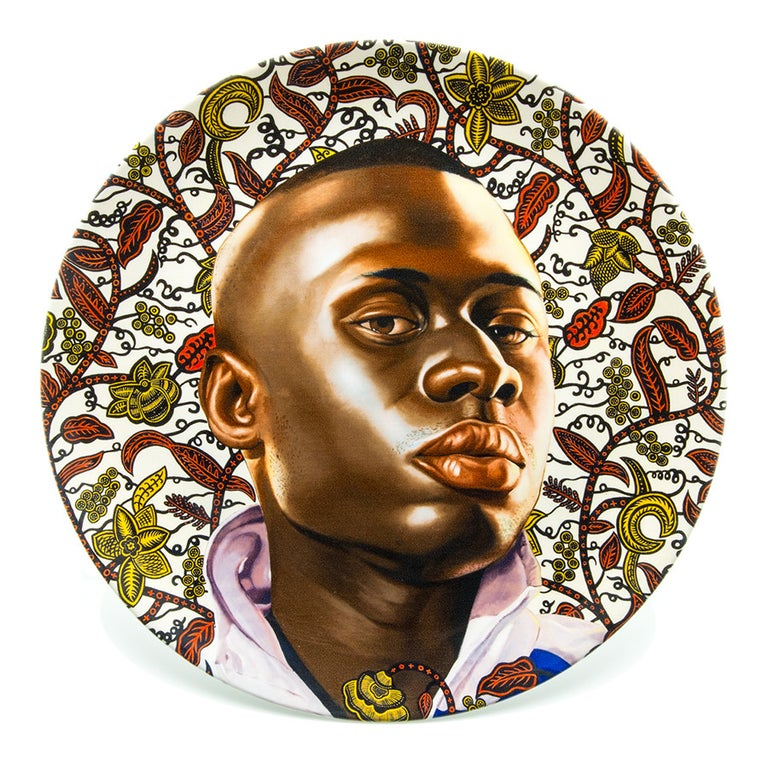 North American Plate Set with Portraits by Kehinde Wiley For Sale
