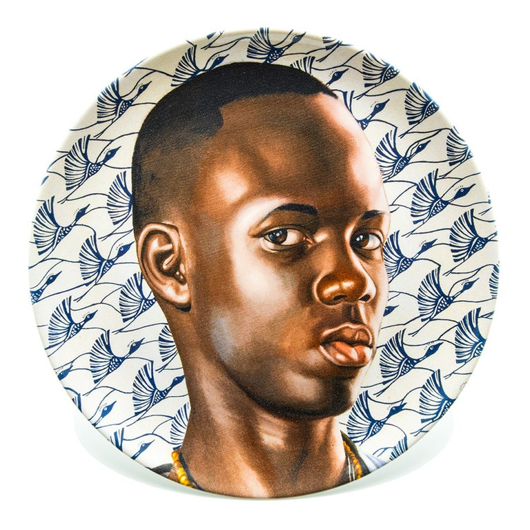 Plate Set with Portraits by Kehinde Wiley For Sale 1