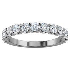 "Platinum Alina ""U"" Shape Diamond Ring '4/5 Ct. Tw'"