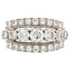 1.7 Carat Platinum Diamond Ring