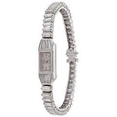 Platinum and Diamond Bracelet Watch by Blancpain