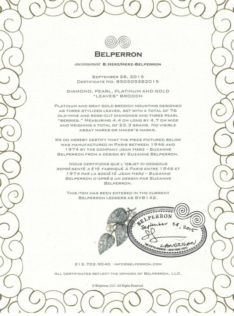 Belperron Platinum and Diamond