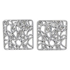 Platinum Cufflinks with GIA Diamonds