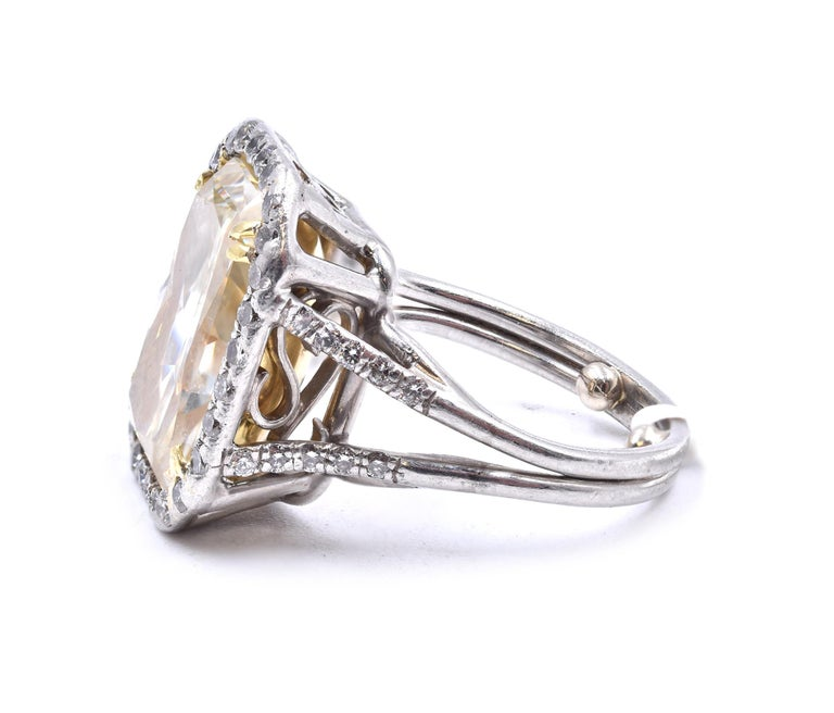 Brilliant Cut Platinum Diamond Engagement Ring