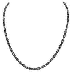 Platinum Diamond Necklace, circa 1930