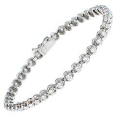 Platinum & Diamond Tennis Bracelet 2.00ctw 14.2g