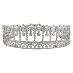 Diamond Platinum Tiara