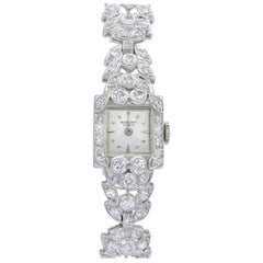 Platinum Diamond Watch