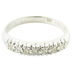 Platinum Diamond Wedding/Anniversary Band
