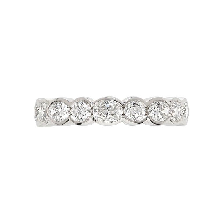 Platinum Diamond Wedding Band For Sale