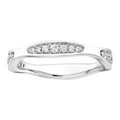 Platinum Donna Marquise Shape Diamond Ring '1/4 Carat'
