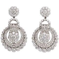 1940s Chandelier Earrings