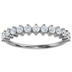 Platinum Efrat Delicate Organic Design Diamond Ring '2/5 Ct. Tw'