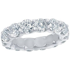 Platinum Eternity Ring 7 Carats.