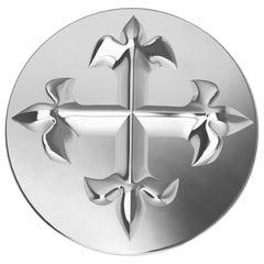 Platinum Fleur-de-Lis Signet Ring