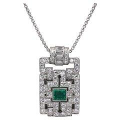 Art Deco Drop Necklaces