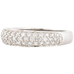 Platinum Pave' Diamond Ring