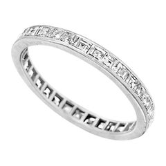 Platinum Ring with Diamonds by Tiffany & Co.