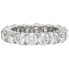 Platinum Round Wedding Band