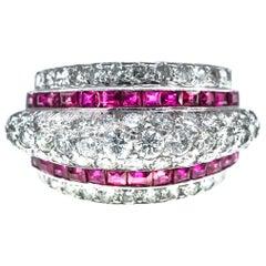 Platinum, Ruby and Diamond Band