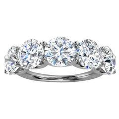 Platinum Sevilla Diamond Ring '5 Ct. Tw'
