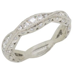Platinum Tacori Diamond Eternity Band