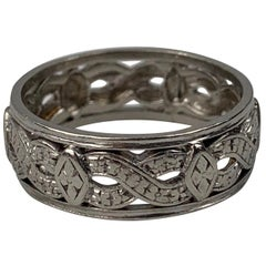 "Platinum Wedding Band from 1941- Marked ""iridium plat"""