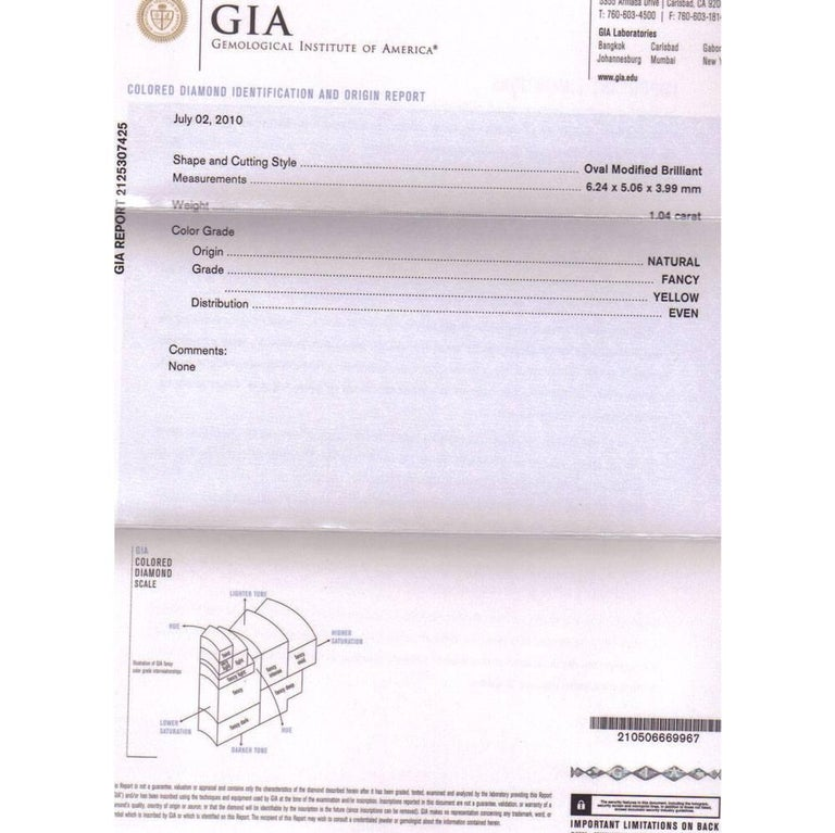 Round Cut Platinum White Yellow Purple Diamond Drop Earrings GIA Certified For Sale