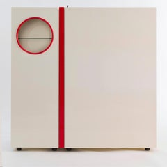 """""""Playbox"""" multi function cabinet by Giotto Stoppino and Ludovico Acerbis, 1984"""