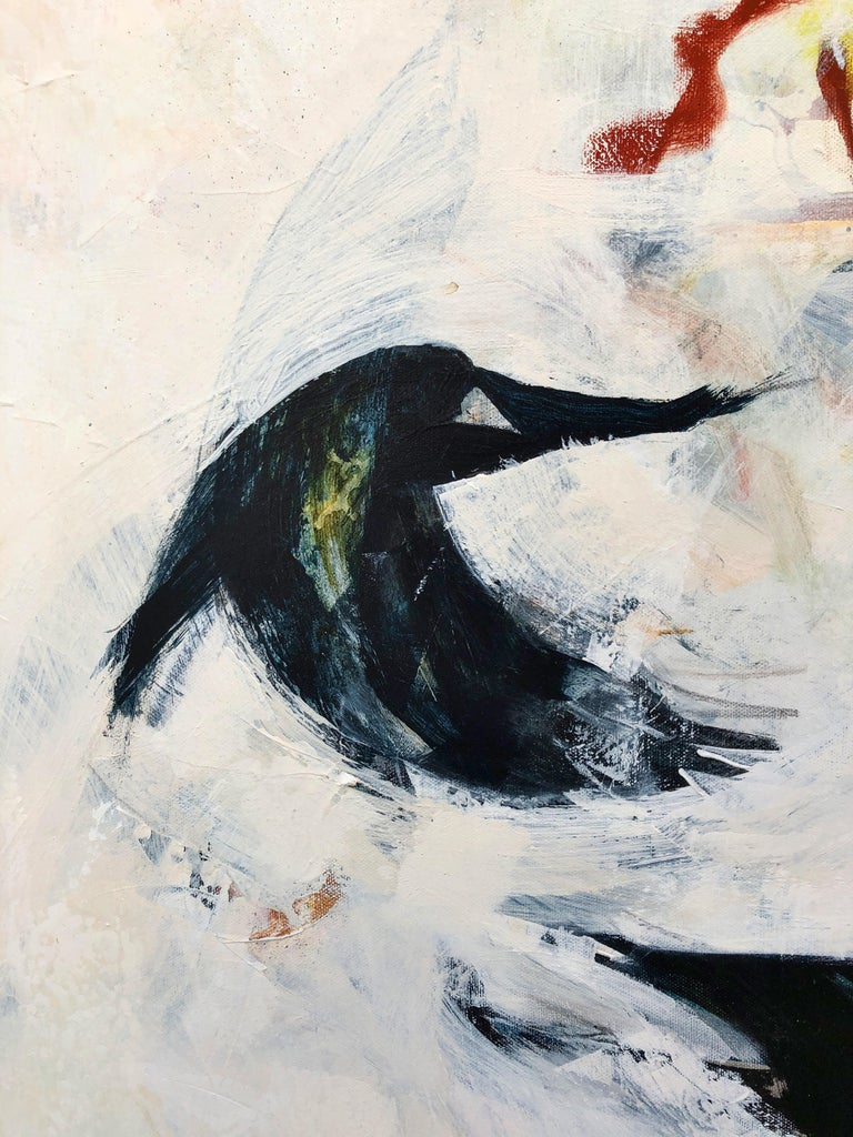 Other Playful Rooks, Contemporary Oil Painting For Sale