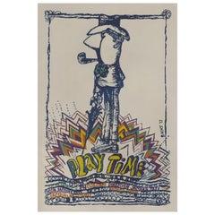 """""""Playtime"""" Original Cuban Film Poster"""