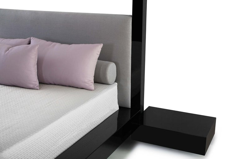 Boasting grand and spectacular dimensions, the flagship Plaza bed is a modern yet not overstated take on Classic four-post luxury. A focal point for any space, it is the pinnacle of sophistication and elegance.