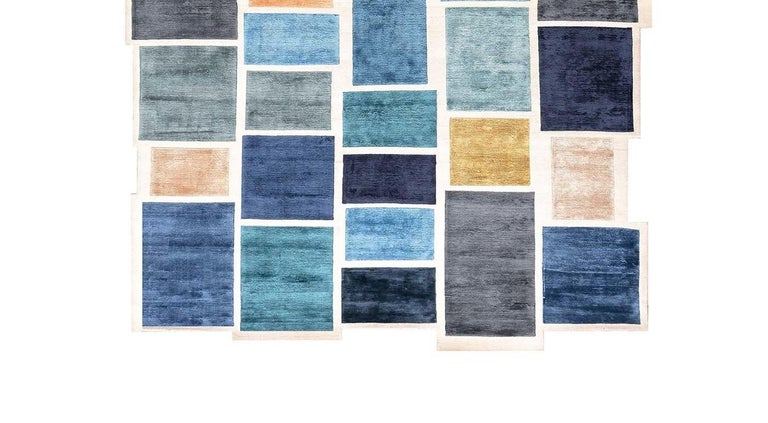 Nepalese Please Wait...Rug by Luca Nichetto For Sale